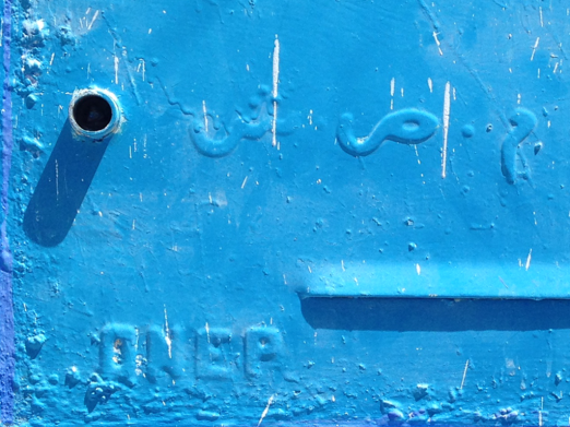 More Arabic and English text in Chefchaouen